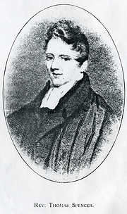 Picture of Thomas Spencer for whom the Chapel was originally built