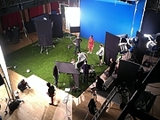 Filmshoot in the Main Space-view from the balcony