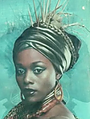 Afrovibes - detail from poster
