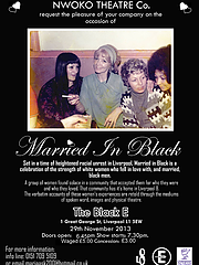Married in Black Poster