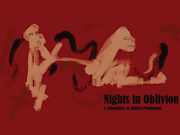 Night in Oblivion event poster
