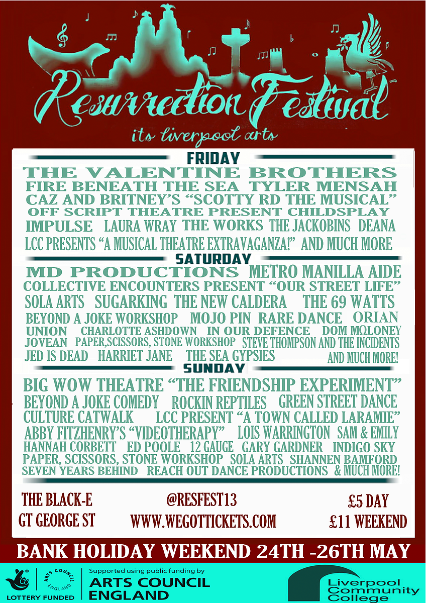 resurrection festival poster