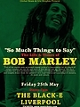the life and times of Bob Marley - poster