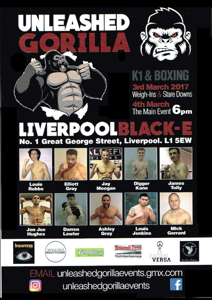 unleasehed gorilla poster