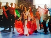 belly dancing group