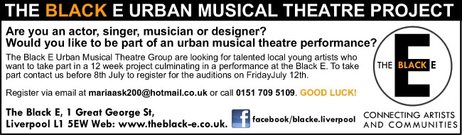 Urban Youth Mucical Theatre advert